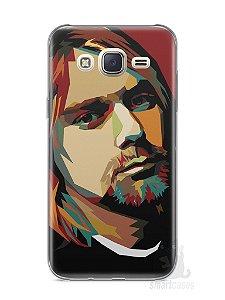 Capa Capinha Samsung J7 Kurt Cobain