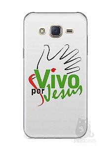 Capa Capinha Samsung J7 Vivo Por Jesus