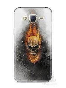 Capa Capinha Samsung J7 Motoqueiro Fantasma
