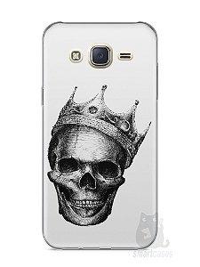 Capa Capinha Samsung J7 Caveira #6