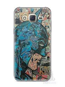Capa Capinha Samsung J7 Batman Comic Books #2