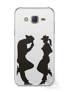 Capa Capinha Samsung J7 Cowboy e Cowgirl