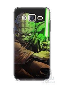 Capa Capinha Samsung J7 Yoda Star Wars