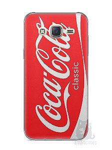 Capa Capinha Samsung J7 Coca-Cola