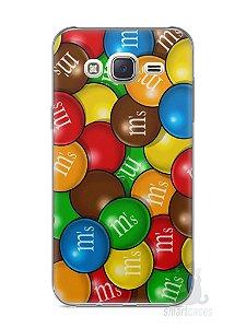 Capa Capinha Samsung J7 M&M's