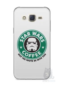 Capa Capinha Samsung J7 Star Wars Coffee