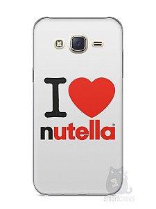 Capa Capinha Samsung J7 I Love Nutella