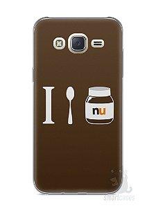 Capa Capinha Samsung J7 Nutella #4