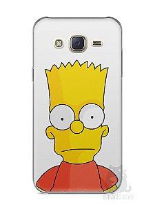Capa Capinha Samsung J7 Bart Simpson