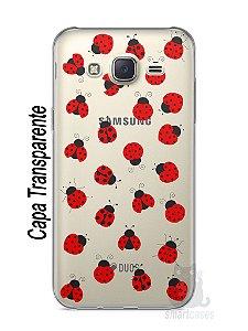 Capa Capinha Samsung J7 Joaninhas #1