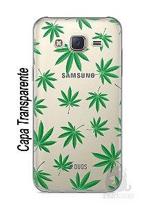 Capa Capinha Samsung J7 Maconha #1