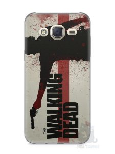 Capa Capinha Samsung J7 The Walking Dead #1