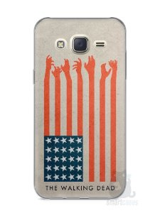 Capa Capinha Samsung J7 The Walking Dead #2