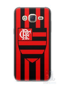 Capa Capinha Samsung J7 Time Flamengo #1