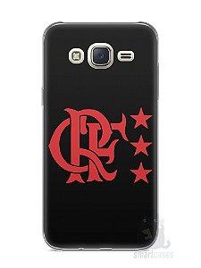 Capa Capinha Samsung J7 Time Flamengo #5