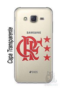 Capa Capinha Samsung J7 Time Flamengo #7