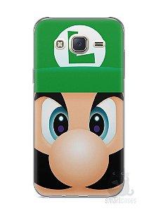 Capa Capinha Samsung J7 Luigi Irmão do Super Mario