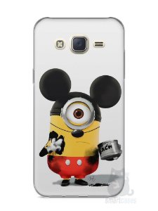 Capa Capinha Samsung J7 Minions Mickey Mouse