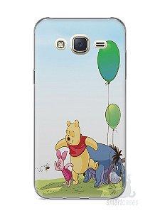 Capa Capinha Samsung J7 Ursinho Pooh