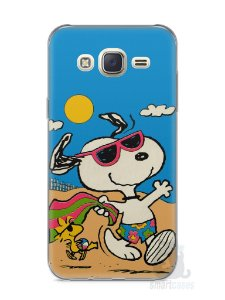 Capa Capinha Samsung J7 Snoopy #1