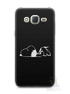 Capa Capinha Samsung J7 Snoopy #7