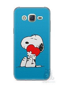 Capa Capinha Samsung J7 Snoopy #26