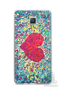 Capa Capinha Samsung A7 2015 Coração Pintura