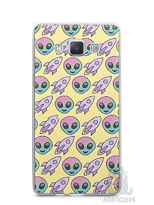 Capa Capinha Samsung A7 2015 Aliens e Foguetes
