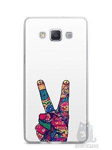 Capa Capinha Samsung A7 2015 Paz e Amor