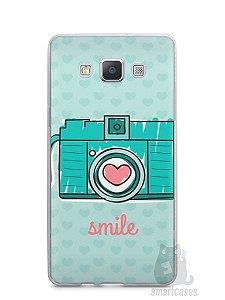 Capa Capinha Samsung A7 2015 Câmera Fotográfica