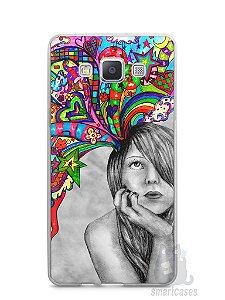 Capa Capinha Samsung A7 2015 Menina Sonhadora