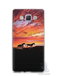 Capa Capinha Samsung A7 2015 Cavalos #1
