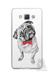 Capa Capinha Samsung A7 2015 Cachorro Pug Estiloso #2