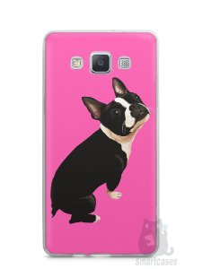 Capa Capinha Samsung A7 2015 Cachorro Boston Terrier