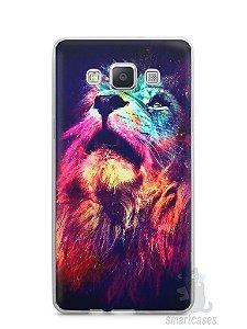 Capa Capinha Samsung A7 2015 Leão Colorido #3