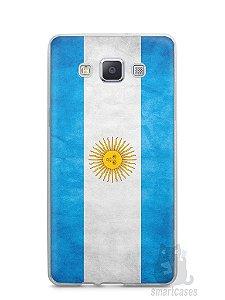 Capa Capinha Samsung A7 2015 Bandeira da Argentina #2