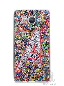 Capa Capinha Samsung A7 2015 The Avengers Comic Books