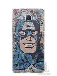 Capa Capinha Samsung A7 2015 Capitão América Comic Books #2