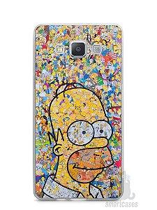 Capa Capinha Samsung A7 2015 Homer Simpson Comic Books