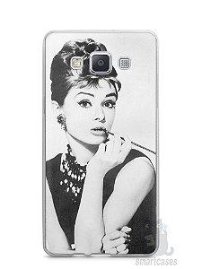 Capa Capinha Samsung A7 2015 Audrey Hepburn #1
