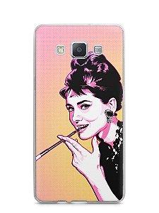 Capa Capinha Samsung A7 2015 Audrey Hepburn #2