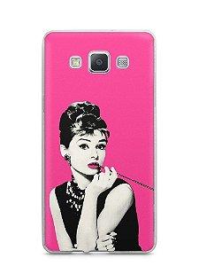Capa Capinha Samsung A7 2015 Audrey Hepburn #4