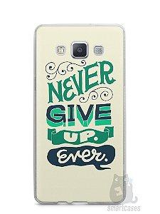 Capa Capinha Samsung A7 2015 Frase #2