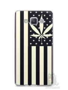 Capa Capinha Samsung A7 2015 Maconha Bandeira EUA