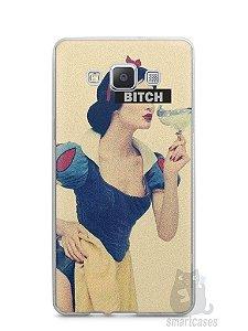 Capa Capinha Samsung A7 2015 Branca de Neve Bitch