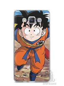 Capa Capinha Samsung A7 2015 Dragon Ball Z Gohan Pequeno