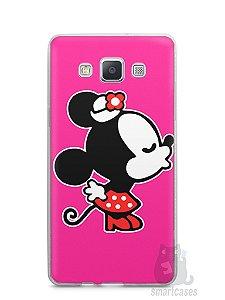 Capa Capinha Samsung A7 2015 Mickey e Minnie Beijo