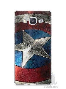 Capa Capinha Samsung A7 2015 Escudo Capitão América