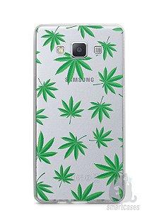 Capa Capinha Samsung A7 2015 Maconha #1