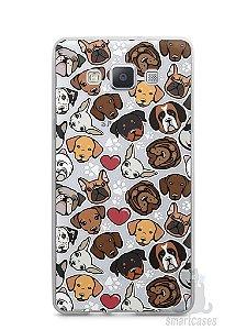 Capa Capinha Samsung A7 2015 Cachorros